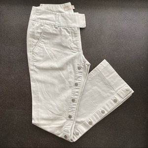 Zoomp, low waist, buttons on the inseams, size 24